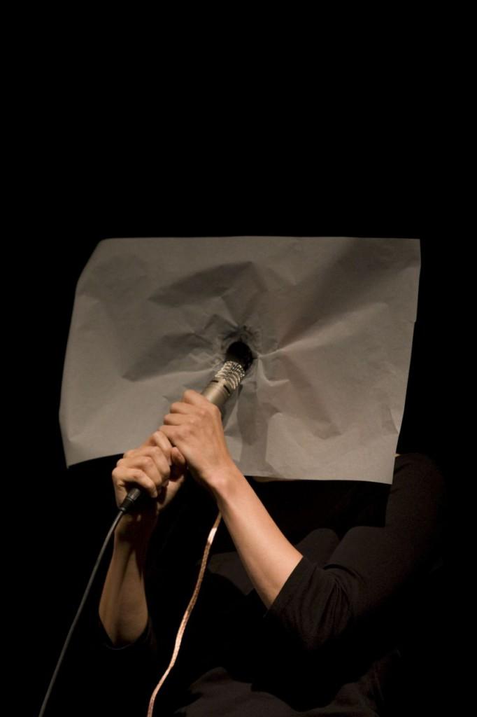 Cathy van Eck microphone speaker performance