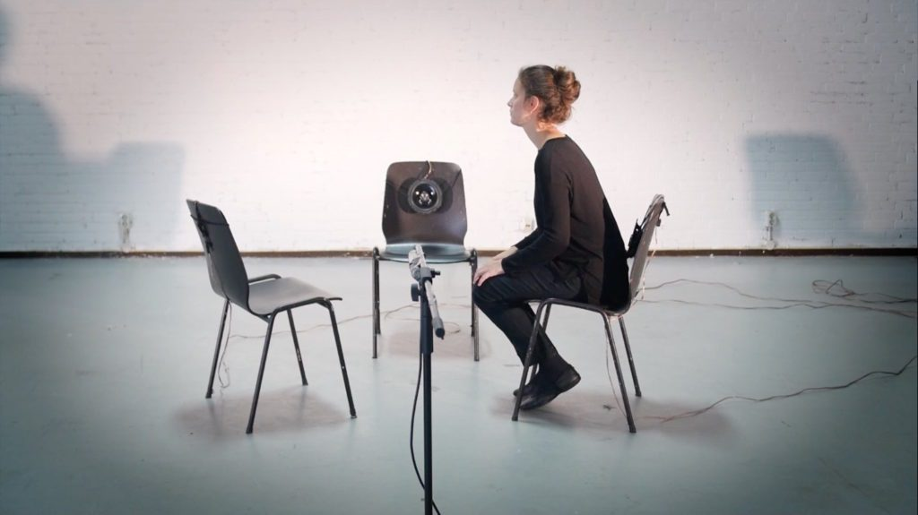 empty chairs sensors microphone performance